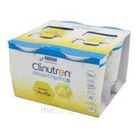 Clinutren Dessert 2.0 Kcal Nutriment Vanille 4cups/200g à Paris