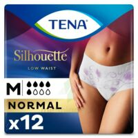 Tena Lady Silhouette Slip Absorbant Blanc Normal Médium Paquet/12 à Paris