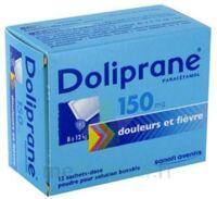Doliprane 150 Mg Poudre Pour Solution Buvable En Sachet-dose B/12 à Paris