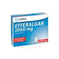 Efferalgan 1000 Mg Comprimés Pelliculés Plq/8 à Paris
