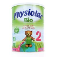 PHYSIOLAC LAIT BIO 2EME AGE à Paris