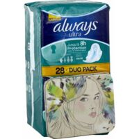ALWAYS ULTRA NORMAL PLUS DUO PACK, sac 28 à Paris