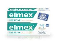 ELMEX SENSITIVE DENTIFRICE, tube 75 ml, pack 2 à Paris