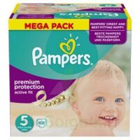 PAMPERS ACTIVE FIT T5 MEGA PACK 68 à Paris