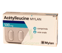 ACETYLLEUCINE MYLAN 500 mg, comprimé à Paris
