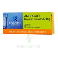 AMBROXOL BIOGARAN CONSEIL 30 mg, comprimé sécable à Paris