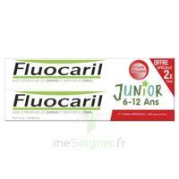 Fluocaril Junior Gel Dentifrice Fruits Rouges 6/12ans 2*75ml à Paris