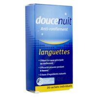DOUCENUIT ANTIRONFLEMENT LANGUETTES, sachet 28 à Paris
