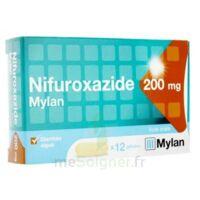 NIFUROXAZIDE MYLAN 200 mg, 12 gélules à Paris