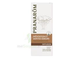 PRANAROM DIFFUSION Huile essentielle pour diffuseur MEDITATION ET SAINTES ODEURS à Paris