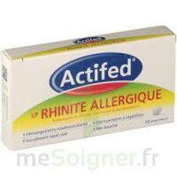 Actifed Lp Rhinite Allergique, Comprimé Pelliculé à Libération Prolongée à Paris