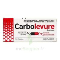 CARBOLEVURE Gélules adulte Plq/30 à Paris