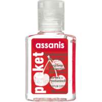 Assanis Pocket Parfumés Gel antibactérien mains cerise 20ml à Paris