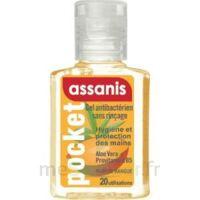 Assanis Pocket Parfumés Gel antibactérien mains Mangue 20ml à Paris