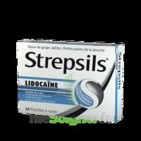 Strepsils lidocaïne Pastilles Plq/24 à Paris