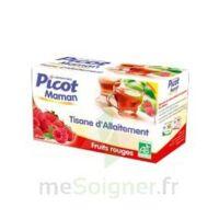 Picot Maman Tisane d'allaitement Fruits rouges 20 Sachets à Paris