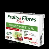Ortis Fruits & Fibres Forte Cube à Mâcher B/12 à Paris