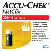 Accu-chek Fastclix Lancettes B/204 à Paris