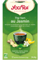 Yogi Tea Thé Vert Jasmin Bio 17 Sachets/1,8g à Paris