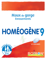 Boiron Homéogène 9 Comprimés à Paris