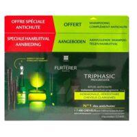 René Furterer Triphasic Progressive Sérum Antichute Coffret 8 Flacons X 5,5ml + Shampoing Stimulant 100 Ml à Paris