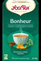 Yogi Tea Tisane Ayurvédique Bonheur Bio 17 Sachets/1,8g à Paris