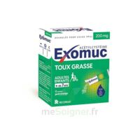 Exomuc 200 Mg, Granulés Pour Usage Oral En Sachet 15 Sachets/2g à Paris